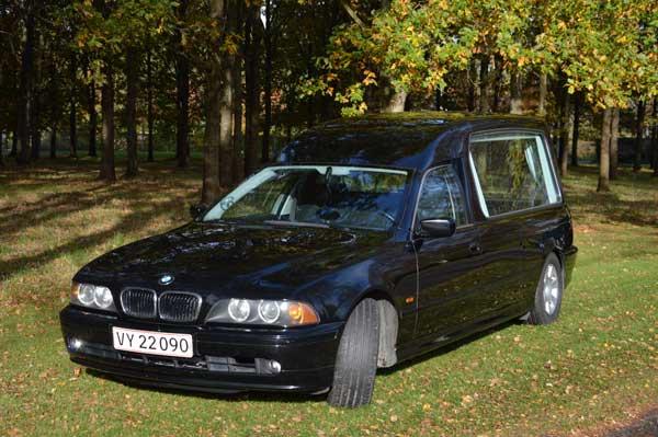rustvogn BMW 520
